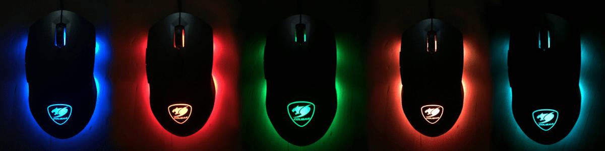 Cougar Minos X3 Beleuchtung