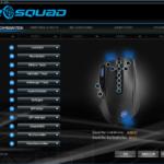 Der Startbildschirm der Software zur Konfiguration der Tastenbelegung.