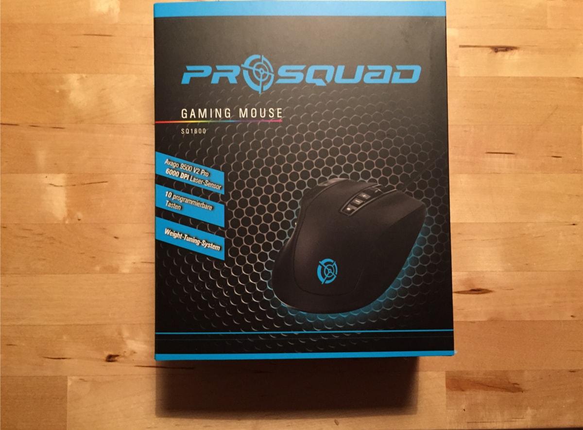 ProSquad SQ1600 Verpackung